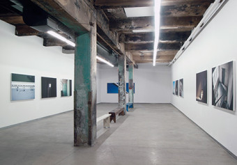 Silo N°5, installation view, Darling Foundry, Montréal, 2003 © Guy L'Heureux