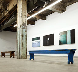 Silo N°5, installation view, Darling Foundry, Montréal, 2003 © Marie-Christine Abel