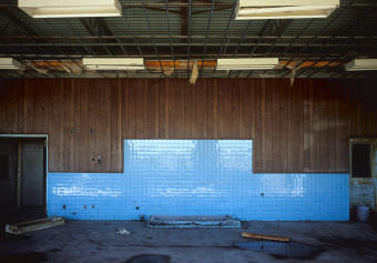 Blue Tile, Tom Nevers, Nantucket, USA, archival ink jet print on Hahnemuhle photo rag (22x30 inches), 1999