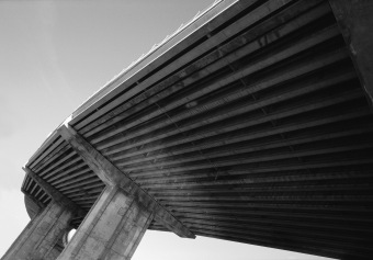 Overpass No 1, Turcot Interchange, Montréal, 2001
