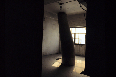 Untitled 26, Montréal, Silo No5,  archival ink jet print on tyvek stretched on frame (40x60 inches), 2000–2002