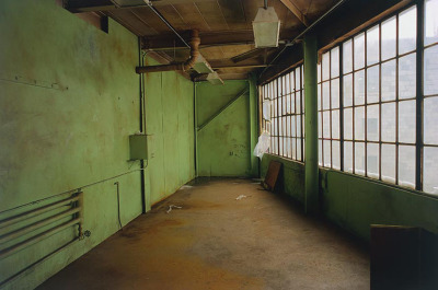 Green Room, from the Zone series, Montréal, archival ink jet print on Arches paper (22x30 inches), 1997