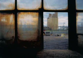 Silo No 3, from the Zone series, Montréal, archival ink jet print on Arches paper (22x30 inches), 1997