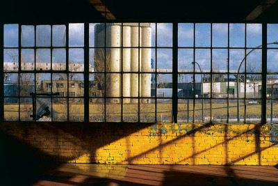 Silo No 2, from the Zone series, Montréal, archival ink jet print on Arches paper (22x30 inches), 1997