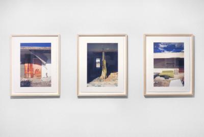 Abandoned Motels, installation view, Stephen Bulger Gallery, Toronto, 2001